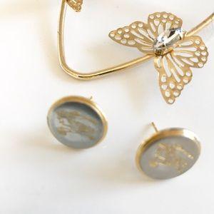 Repurpose Burberry Vintage Studd Earrings